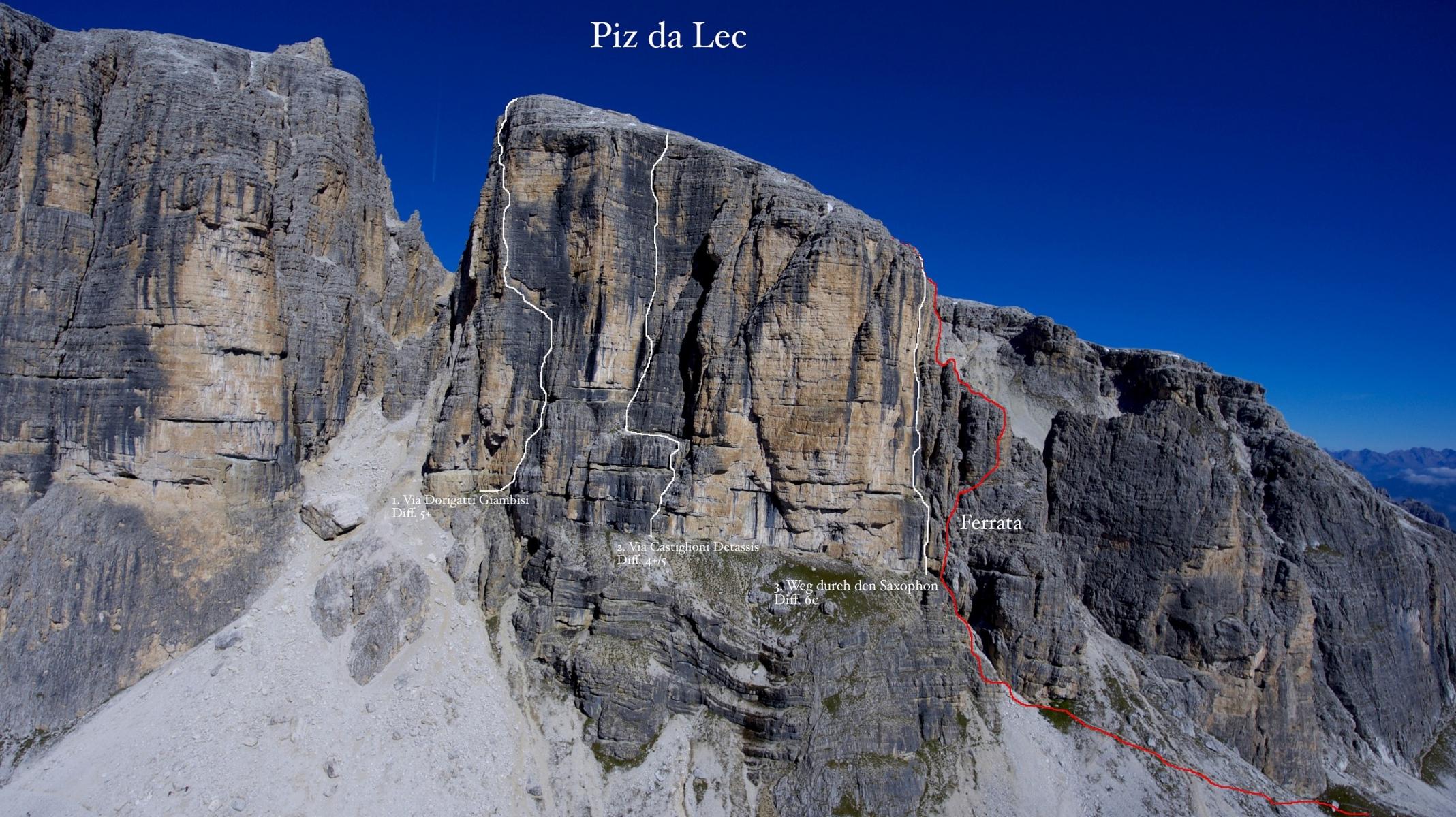 Vallon Klettersteig : Vallon klettersteig schutzhütte franz kostner am alta